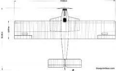 dornier delphin ii 04 model airplane plan