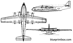 dornier do 214 model airplane plan