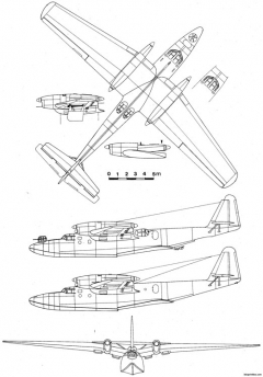 dornier do 26 2 model airplane plan