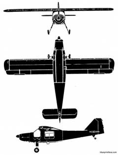 dornier do 27 model airplane plan