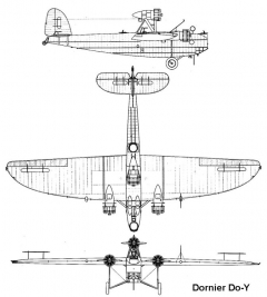 dornier doy 3v model airplane plan