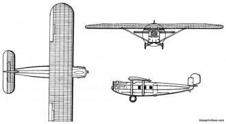 dornier komet model airplane plan