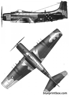 douglas a 1e skyraider model airplane plan