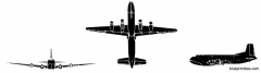 douglas c 124 globemaster model airplane plan