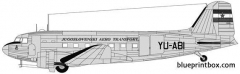 douglas c 47 dakota 2 model airplane plan