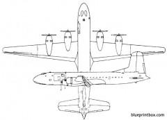 douglas c 74 globemaster model airplane plan