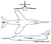 douglas d 558 2 skyrocket model airplane plan
