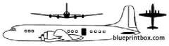 douglas dc 7 model airplane plan