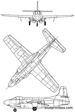 douglas f3d 2 skynight model airplane plan
