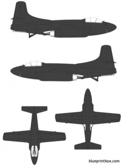 douglas f 3d 2 skyknight model airplane plan