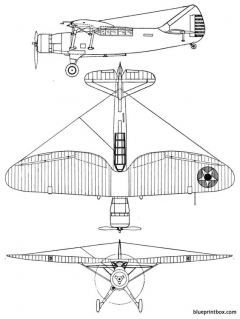 douglas o 46 model airplane plan