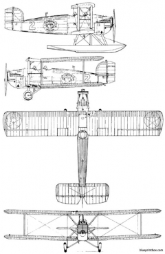 douglas world cruiser dwc model airplane plan