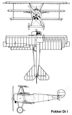 dr1 3v model airplane plan