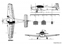 druine d 61 condor model airplane plan