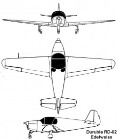 duruble 3v model airplane plan