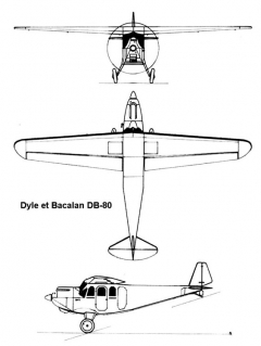 dyledb80 3v model airplane plan