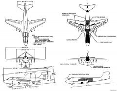 ea 6b model airplane plan