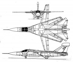 ef111 3v model airplane plan