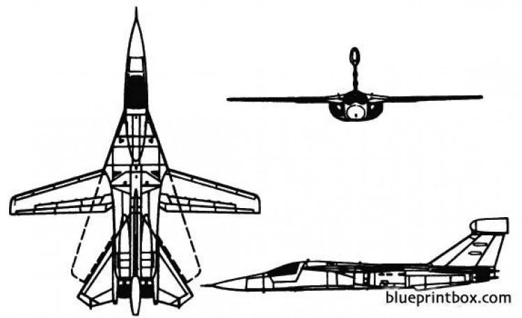 ef 11a raven model airplane plan