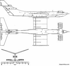 ekranoplan km caspian sea monster 02 model airplane plan