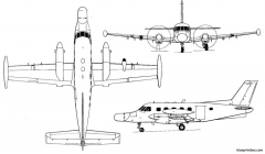 embraer emb 111 model airplane plan