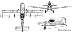 embraer emb 200 201 ipanema 1970 brazil model airplane plan
