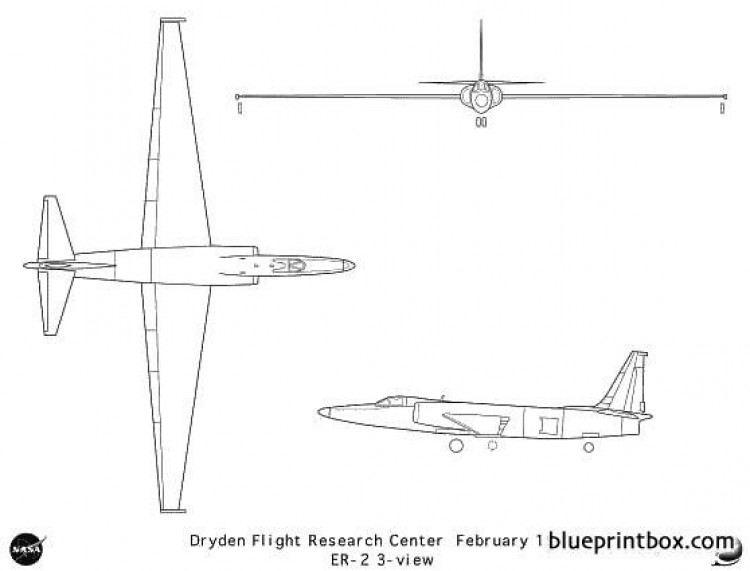 er 2 model airplane plan