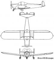 ercoupe 3v model airplane plan