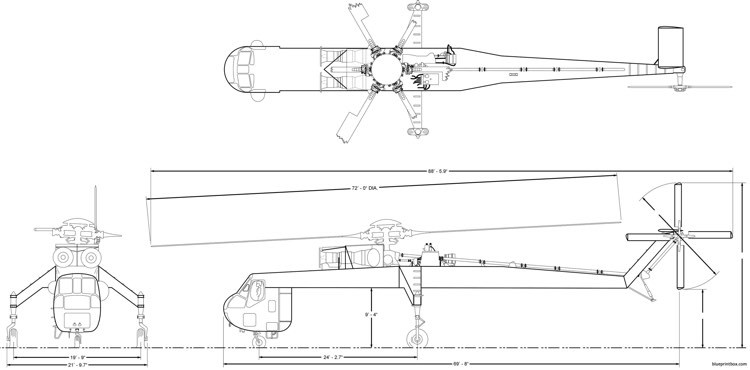 erickson aircrane model airplane plan