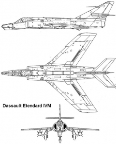 etendard4m 1 3v model airplane plan