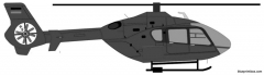 eurocopter ec 135 model airplane plan