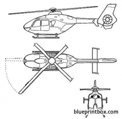 eurocopter ec 635 model airplane plan