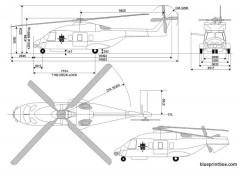 eurocopter nh90 nato fh model airplane plan