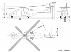 eurocopter nh 90 model airplane plan
