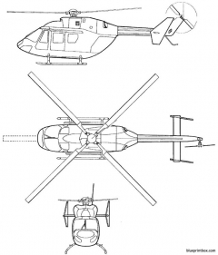 eurocopter td bk 117 c1 model airplane plan