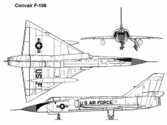 f106 3v model airplane plan