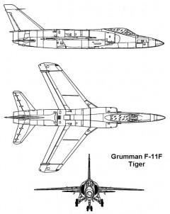 f11f 1 3v model airplane plan