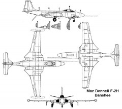 f2h banshee 3v model airplane plan