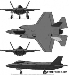 f35 model airplane plan