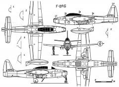 f84g 3v model airplane plan