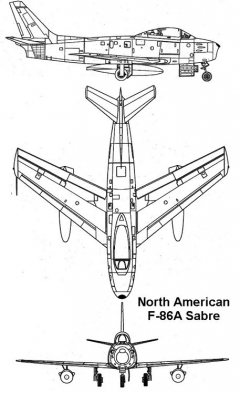 f86a 1 3v model airplane plan