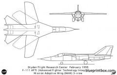f 111 model airplane plan