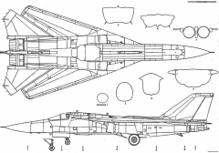 f 111 2 model airplane plan