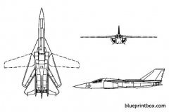 f 111 aardvark model airplane plan