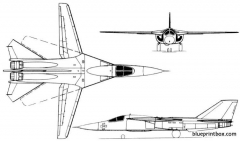 f 111 aardvark 2 model airplane plan