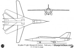 f 111a model airplane plan