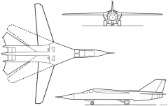 f 111a aardvark 1964 model airplane plan