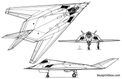 f 117a nighthawk 2 model airplane plan