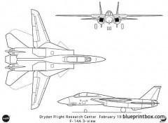 f 14a model airplane plan