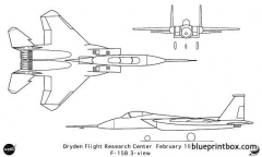 f 15b model airplane plan